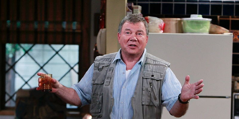 William Shatner to star in adaptation of Aliens Ate My Homework 3