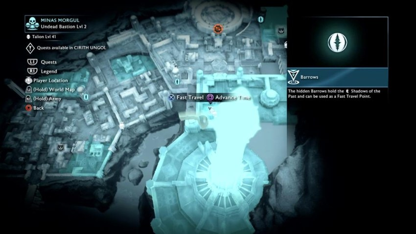 Middle Earth Shadow Of War Ithildin Door Guide Critical Hit