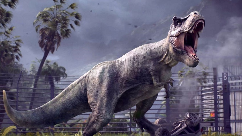 Jurassic World Evolution gameplay seems disturbingly calm