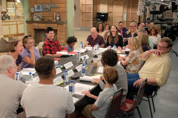Have a look at the first photos of the original cast returning for the Roseanne reboot 5