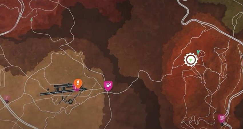 need for speed payback mustang parts map