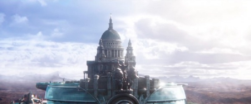 Watch the city of London on wheels in this first trailer for Peter Jackson's Mortal Engines 4