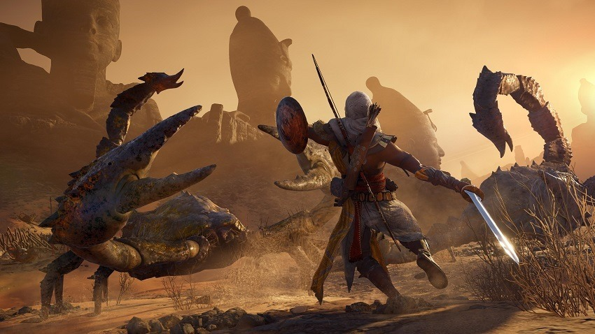 Assassin's Creed Origins Curse of the Pharaohs delayed 2