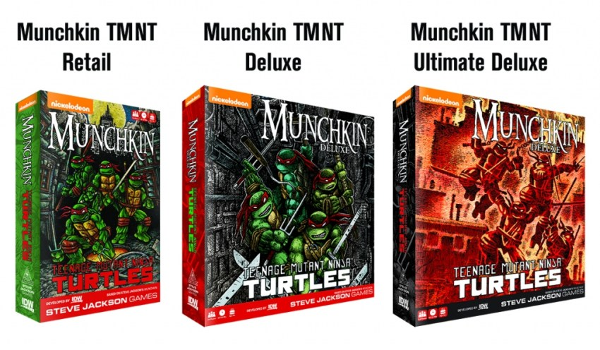 Teenage Mutant Ninja Turtles gets the Munchkin treatment 2