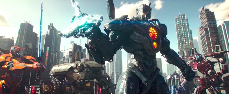 Watch giant fighting robots fighting giant monsters in this trailer for Pacific Rim Uprising 3