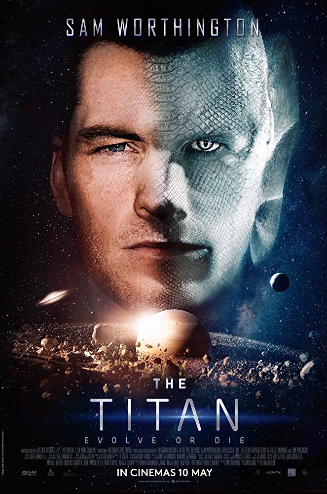 Sam Worthington becomes a new man in the sci-fi thriller The Titan 4