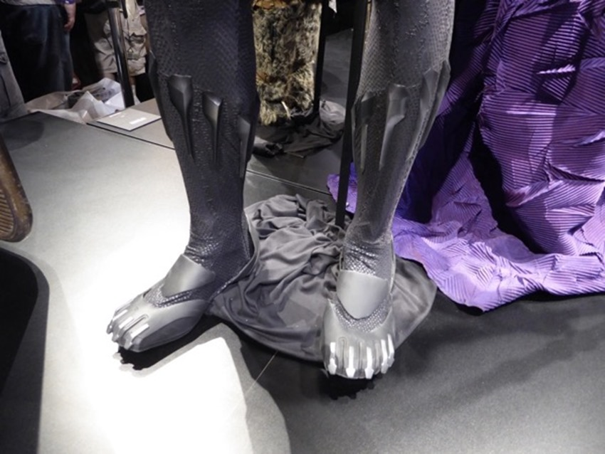 black panther costume boots