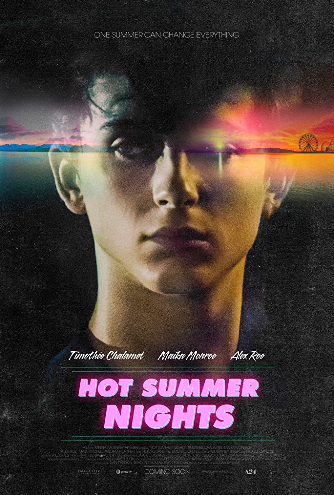 Timothée Chalamet breaks out of his shell and comes of age in the wild drama Hot Summer Nights 4