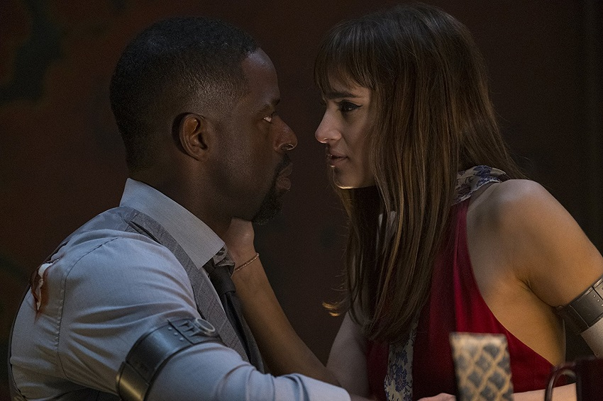 Jody Foster provides a safe haven for injured criminals in the sci-fi action thriller Hotel Artemis 3