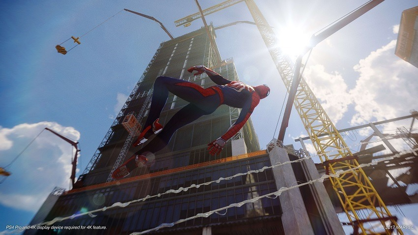 Spider-Man has a plethora of gadgets 2