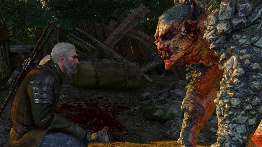 The Witcher series is still miles off 2