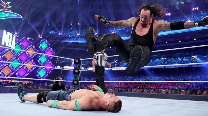 Wrestlemania shocks (8)
