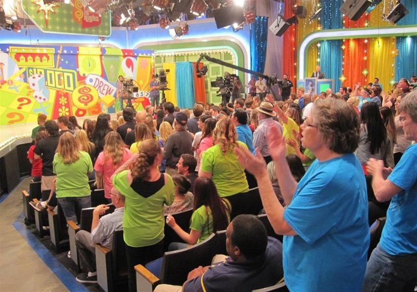 Game Show crowd