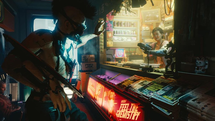 Going first-person created a new layer of storytelling for Cyberpunk 2077 5