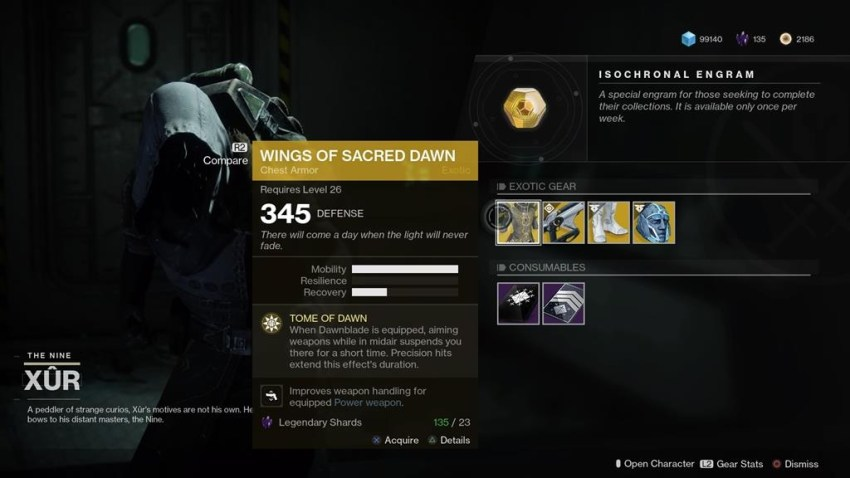 Destiny 2: Where is Xur (and whats he got for sale?) – 01 June 4