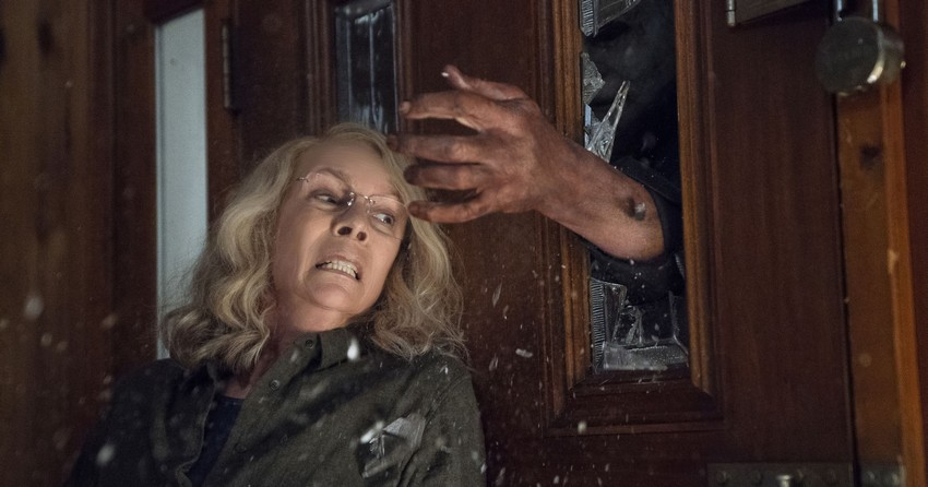 Jamie Lee Curtis is ready for the return of Michael Myers in this first trailer for Halloween 2