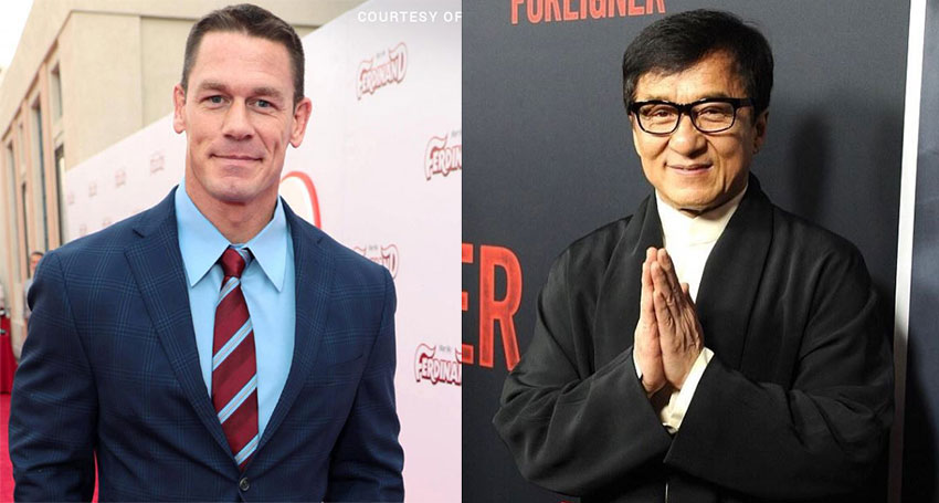 John Cena replacing Sylvester Stallone in Jackie Chan team-up action movie 3