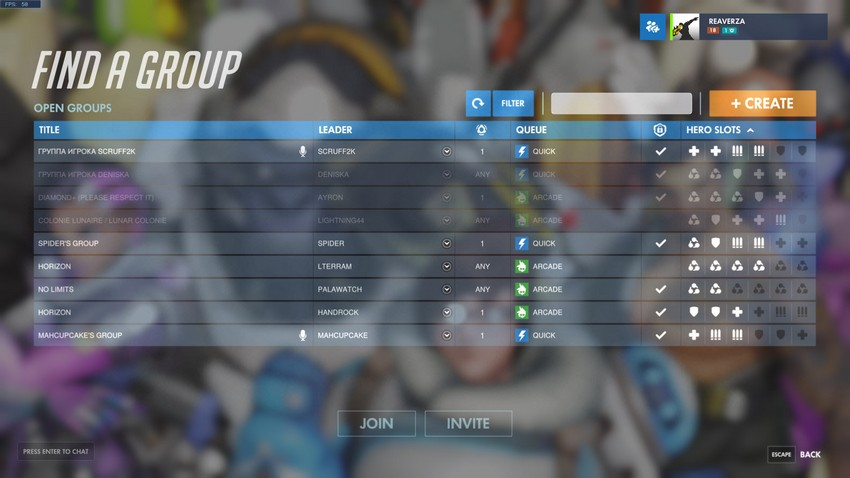 """Overwatch getting major new social features, including player endorsements and """"looking for group"""" 4"""