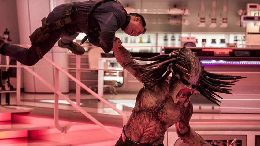 Weekend box office - The Predator at no.1 but with disappointing opening 3