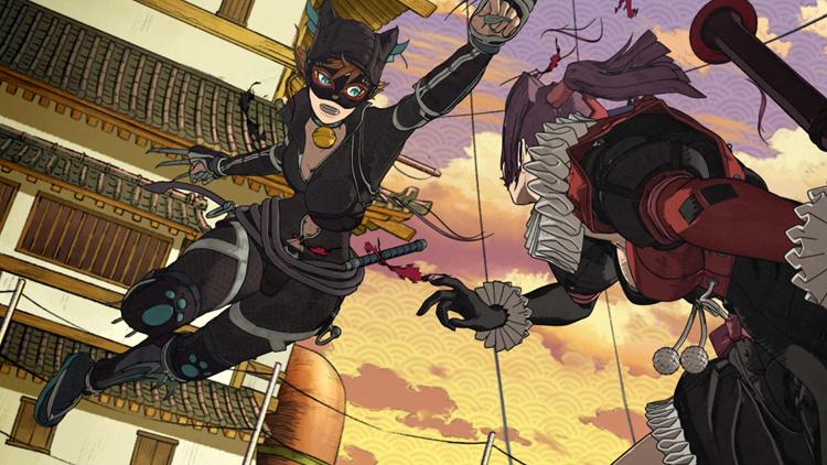 Batman Ninja (DVD) review – Breathtakingly gorgeous, bat#$@t insane 6