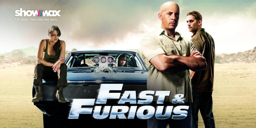 Rev your engines and revisit the Fast and Furious franchise on Showmax this holiday 3