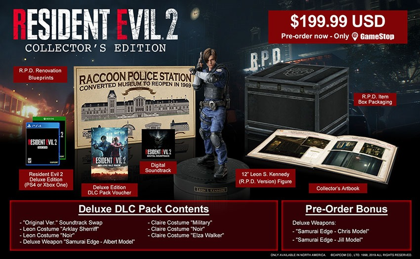 RE 2 Collector's Edition