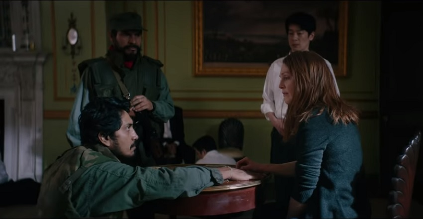 Julianne Moore finds power in song in this trailer for the hostage drama Bel Canto 3