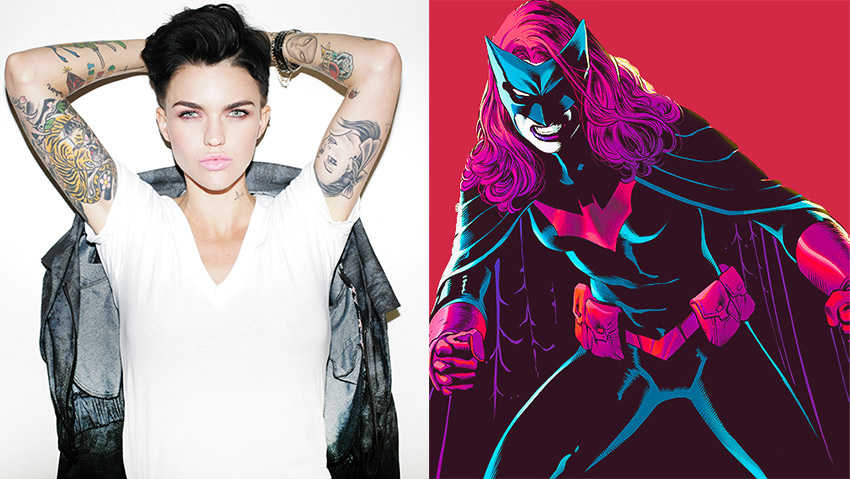 Ruby Rose cast as Batwoman in The CW's Arrowverse 3