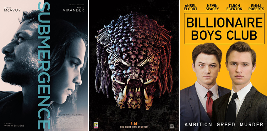 Movies out Today: 14 September 2018 2