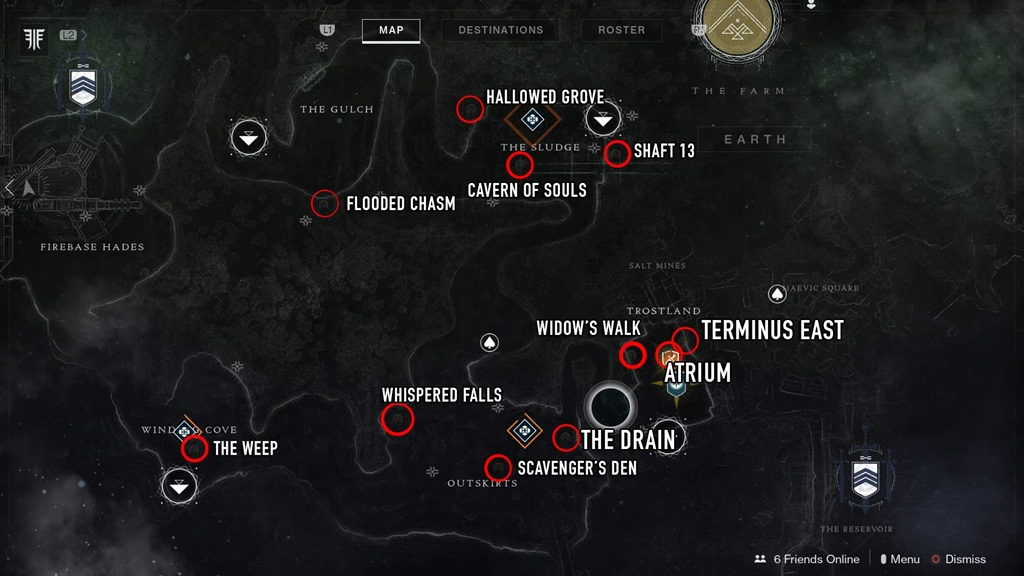 where to easily find every bounty target and lost sector in destiny 2 forsaken lost sector in destiny 2 forsaken