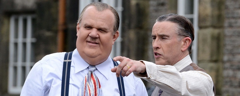 See the real lives of slapstick comedy legends in this trailer for Stan & Ollie 2
