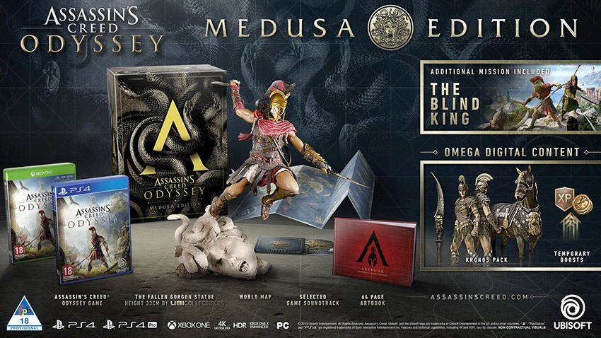 ASSASSINS CREED ODYSSE_MEDUSA ED_x1_ps4