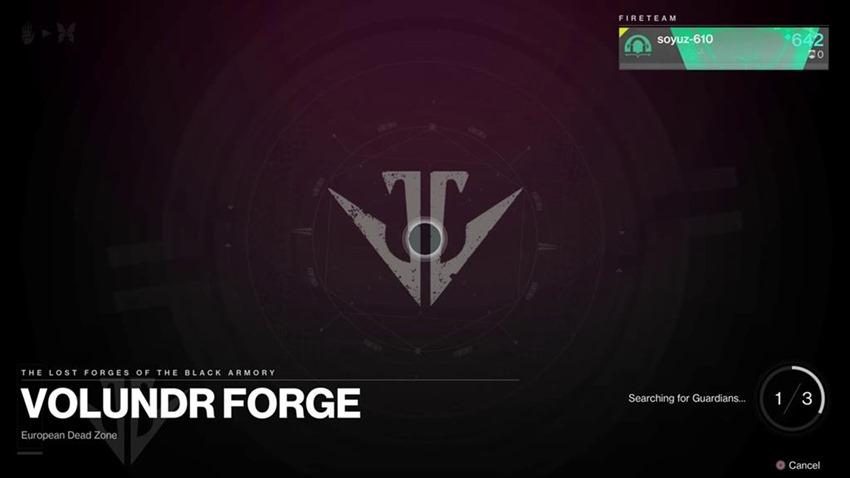 Destiny Black Armory Lost forge (2)