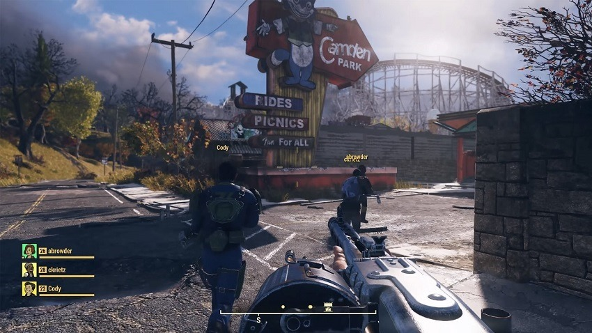 Fallout 76 getting rolling patches next month
