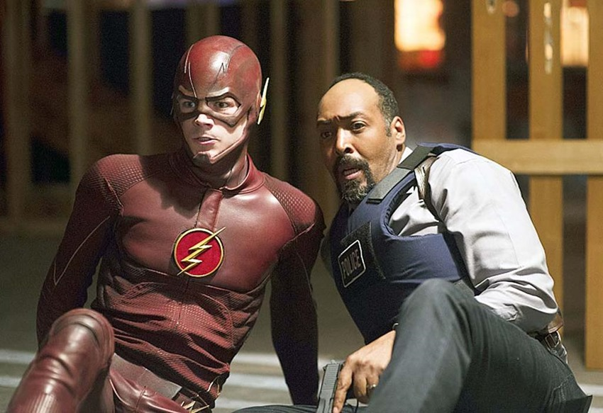 Jesse L Martin The Flash (3)