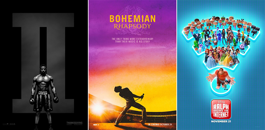Movies out Today: 30 November 2018 2