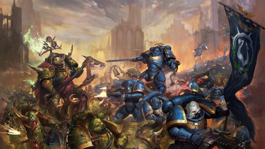 warhammer space marines