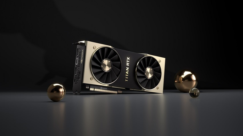 Nvidia reveals Titan RTX card for compute markets