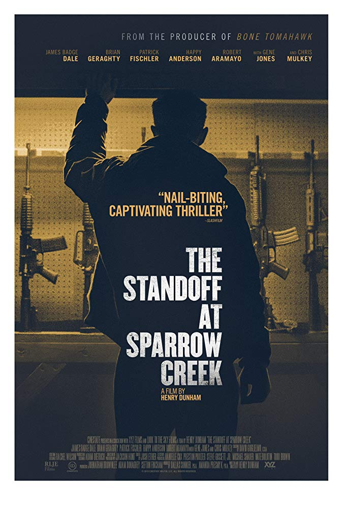 There's an intense hunt for a murderer in The Standoff at Sparrow Creek 4