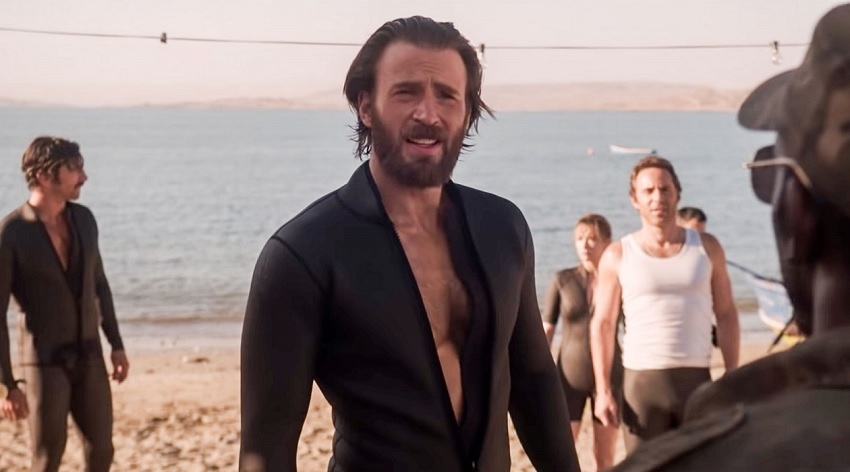 Chris Evans leads an audacious rescue effort in Netflix's true life-inspired drama The Red Sea Diving Resort