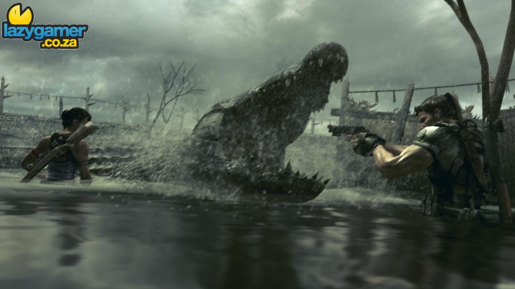 New Resident Evil 5 Screenshots released 2