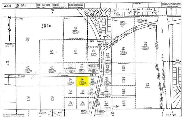 0 Ave. R5 (city ranch Rd.) and Tierra Subida Avenue