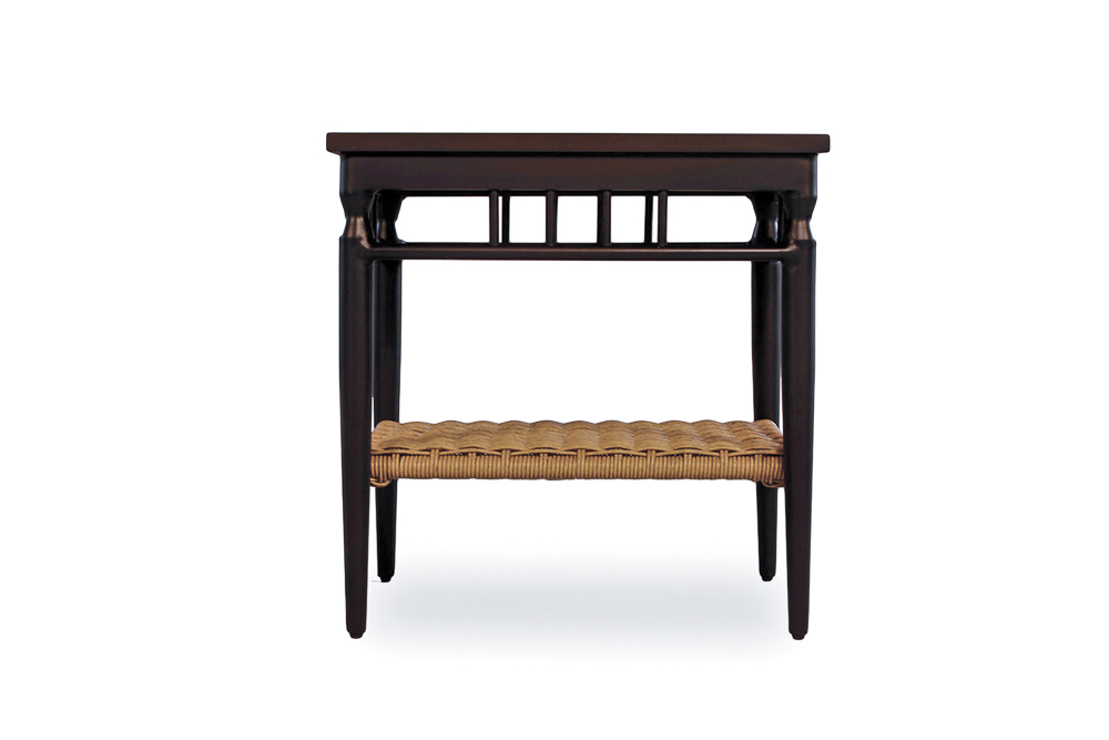 chair cba steel black slipper item lloyd flanders premium outdoor furniture in all weather low country 24 rectangular end table