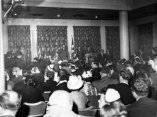 21 de abril. Conferencia en la Universidad de Columbia, Nueva York. Foto: Revolución.