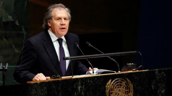 Luis Almagro. Foto: Reuters.