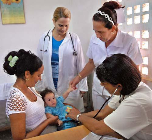 Médicos de la Familia. Foto: Archivo