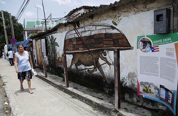 Pintada de David Záyas. Foto: Ismael Francisco/ Cubadebate