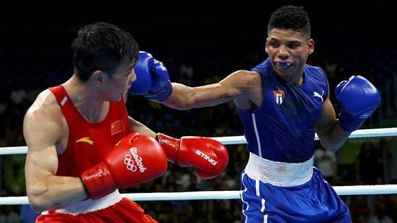 Yosvany Veitía fue eliminado en cuartos de final. Foto: Reuters.