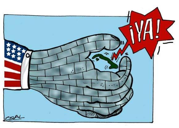 caricaturas CubaVsBloqueo 2