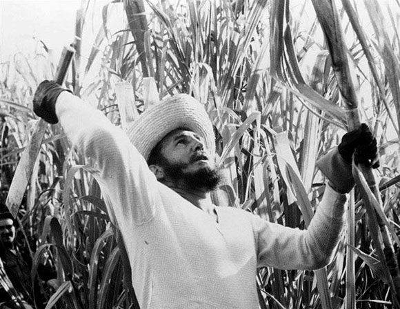 Fidel era el primero en todo. Foto: Archivo.